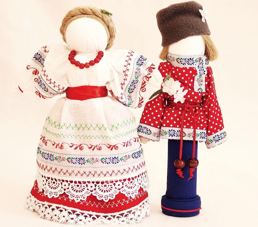 Куклы в народных костюмах своими руками из ткани 38